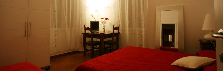 La rotella nel sacco rooms in rome - Piastrelle bagno damascate ...